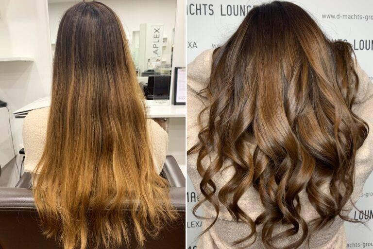 Übergang zu natürlichem Haar